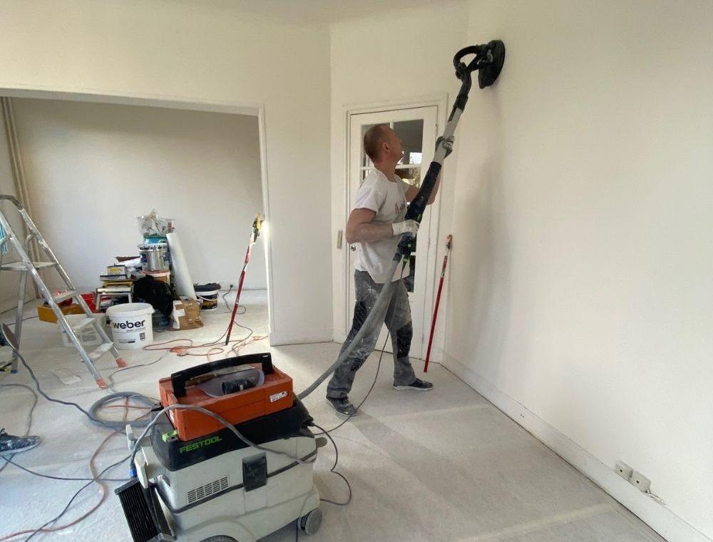 Peintre en batiment - Rénovation d'un salon